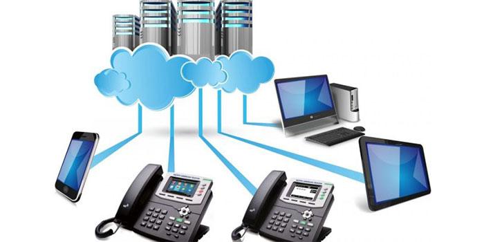Sự khác biệt cơ bản giữa điện thoại cố định với hệ thống điện thoại voip