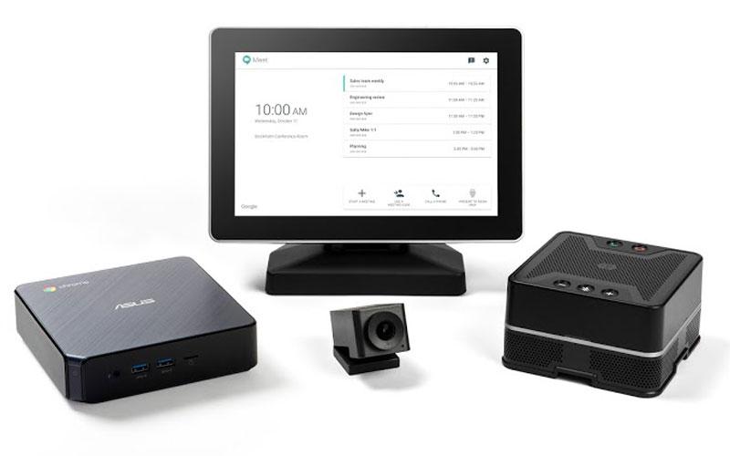 Bộ thiết bị hội nghị truyền hình hiện đại Google meet hardware kit