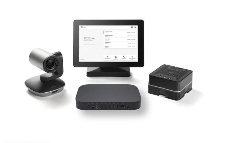 Thiết bị hội nghị google meet cho phòng hợp lớn Asus hardware kit