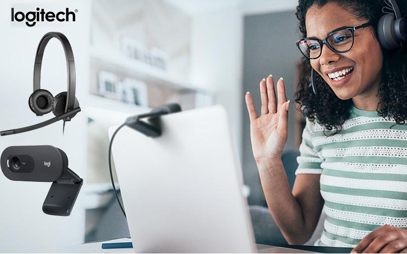 Combo Webcam và Tai nghe giá rẻ cho học tập, làm việc trực tuyến